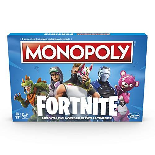 Hasbro E6603103 Monopoly Fortnite Gioco da Tavolo, 13 anni+, Per 2-7 Giocatori- Versione...