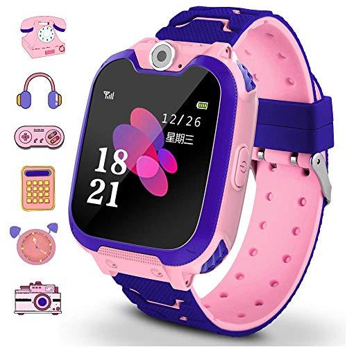 Winnes - Smartwatch per bambini con 7 giochi, funzione musica e sveglia, fotocamera, per 3...