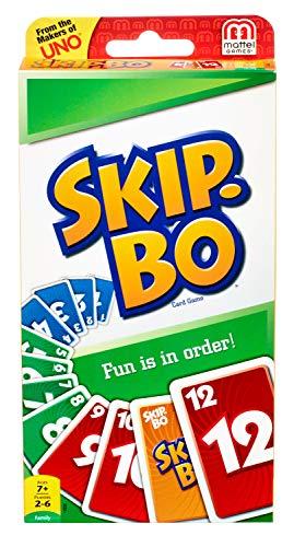 Mattel - Skip-Bo, Gioco di Carte [Importato da UK]