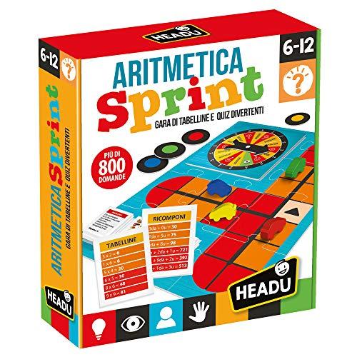 Headu - Aritmetica Sprint - Gioco Educativo per Bambini dai 6 ai 12 Anni