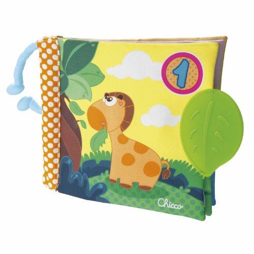 Chicco - Gioco Baby Senses Libro 1 - 2 - 3 New, 72376