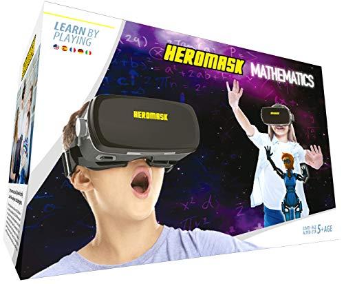 Visore VR Realta Virtuale + Gioco educativo bambini [Operazioni Matematica e calcolo...