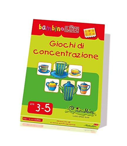LKB-S12 CreativaMente, Libro Gioco, BLUK Giochi di Concentrazione, Gioca con la Logica,...