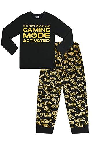 The PyjamaFactory Pigiama Lungo con Scritta Do Not Disturb Gaming Mode Activated all Over...