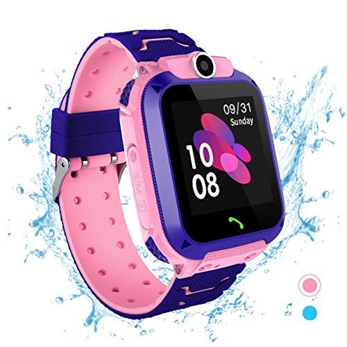 Smartwatch per bambini - Impermeabile IP67 LBS Tracker Orologio Telefono con SOS Chiamata...