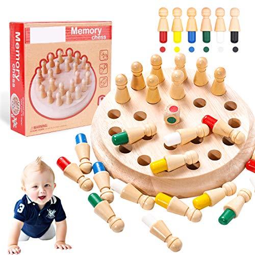 O-Kinee Memory Gioco per Bambini e Adulti, Giocattoli di Legno, Giochi Interattivi da...