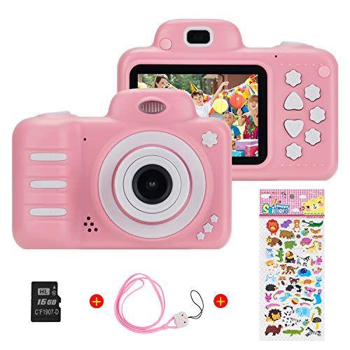 (16GB microSD) 1080P HD per bambini Fotocamera digitale, Vannico 800MP 2.4 pollici Outdoor...