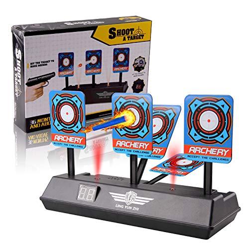 Beetest Bersaglio Elettrico Auto-Reset Scatto Elettronico Segnare Target Toy con Display...