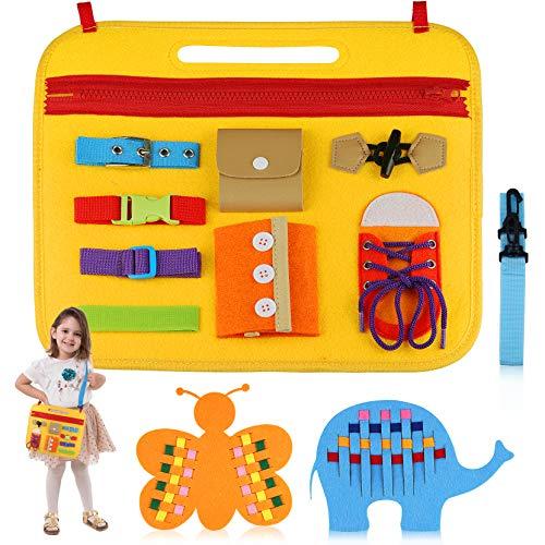 aovowog Giochi Montessori 1 2 3 4 Anni,Busy Board Giochi Educativi Montessori per...