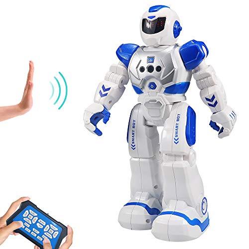 HUSAN RC Robot per Bambini, Robot Intelligente Interattivo Controllo a Infrarossi...
