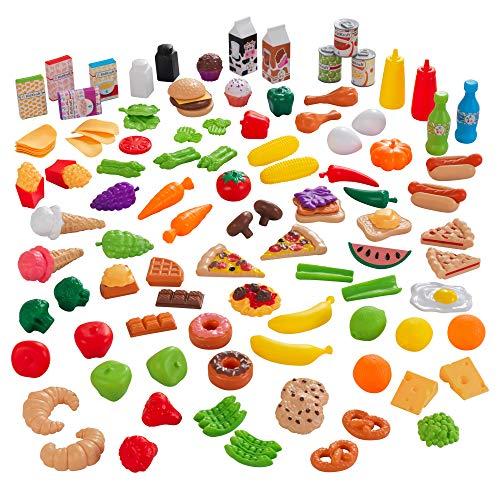 Kidkraft 63330 Set di Cibo Giocattolo Deluxe Tasty Treats per Bambini, Giochi di...