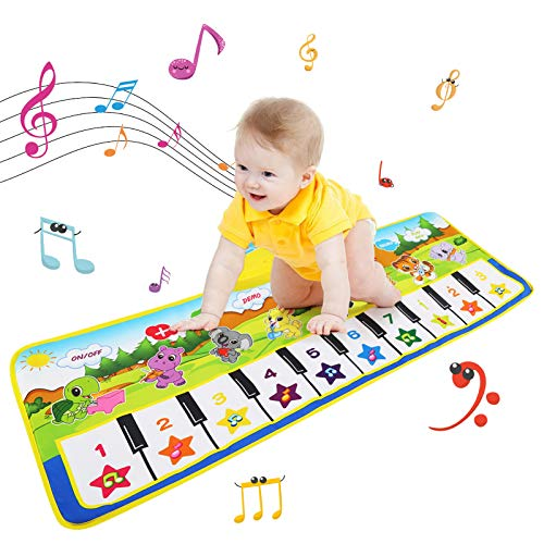NEWSTYLE Tappeto Musicale Bambini,Tappeto Musicale per Bambini Tappeto Danza per Bambini...