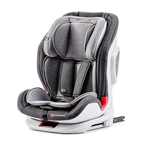 Kk Kinderkraft ONETO3 Seggiolino Auto, con Isofix, Reclinabile, Regolabile, Base Sicura,...
