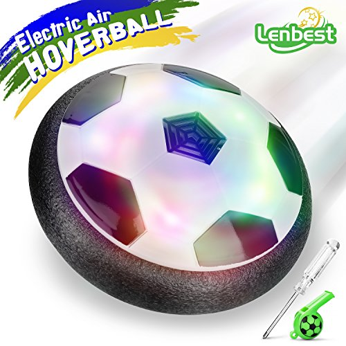 lenbest Hover Ball Calcio da Interno, Calcio Sportivo per Bambini con paracolpi in Schiuma...