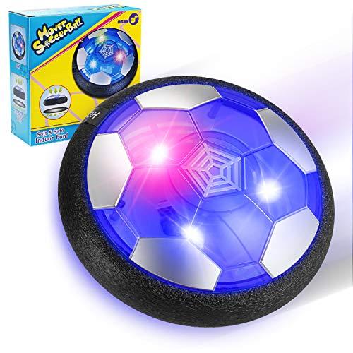 EXTSUD Giochi Bambini Calcio da Interno Air Hover Ball Pallone Calcio Fluttuante con...