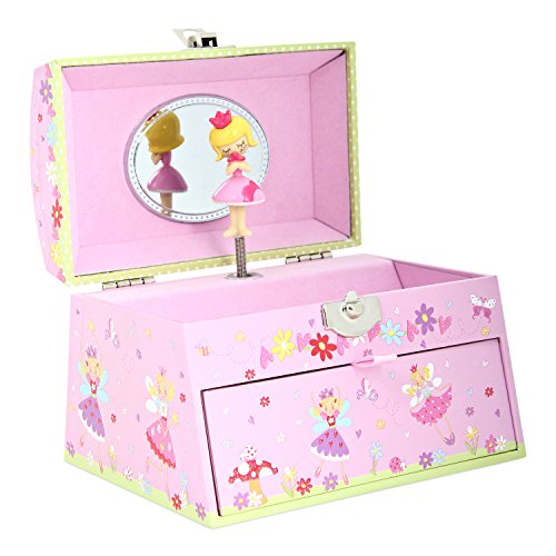 Lucy Locket Portagioie fatina (portagioie, carillon musicale, scatola regalo per bambini)...