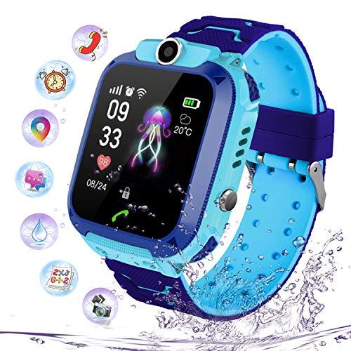 Smartwatch Impermeabile per Ragazzi Ragazze, Orologio Intelligente Telefono con LBS...