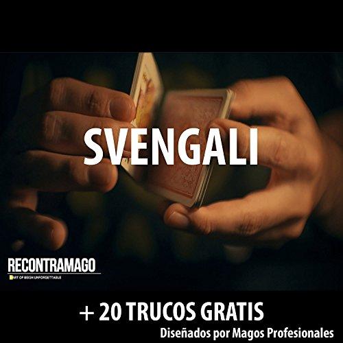 Carte da Magia Svengali - Giochi di Magia Prestigio + Accesso Sito Web Segreto con Video...