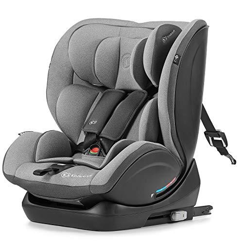 Kinderkraft Seggiolino Auto MYWAY, Isofix, Reclinabile, Regolabile, Base Sicura, RWF,...