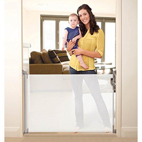 Stork Child Care- Cancelletto Di Sicurezza Retrattile Per Aperture Fino A 85x140 Cm-...