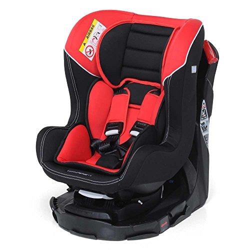 Foppapedretti Tournè Seggiolino Auto, Rosso, Gruppo 0+/1 (0-18 Kg) per bambini dalla...