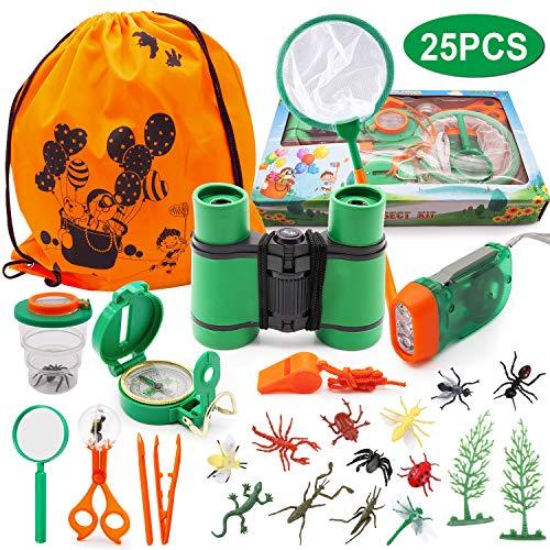 Outdoor Explorer Kit SPECOOL 12Pz Far finta di giocare a giocattoli per ragazzi e ragazze...