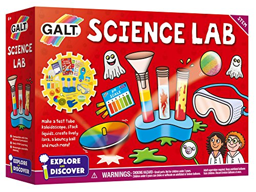 Galt Toys- Science Lab Kit Laboratorio scientifico, Multicolore, 1004861