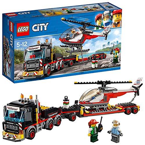 Lego - City Trasportatore Carichi Pesanti, con Due MinifigureRicco di Dettagli...