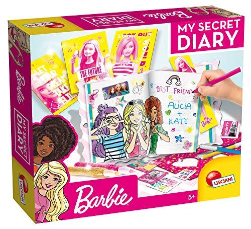 Lisciani Giochi- Barbie My Secret Diary Gioco Interattivo, Multicolore, 55951