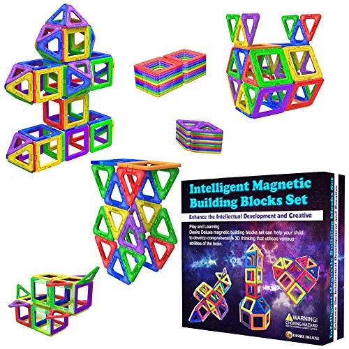 Desire Deluxe Costruzioni per Bambini Set Tessere magnetiche - Giochi Bambina 3 4 5 6 7...