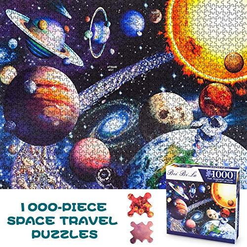 DIMU 1000 Piece Jigsaw Puzzles, Puzzle Spaziali per Adulti 1000 Pezzi Pianeti Puzzle per...