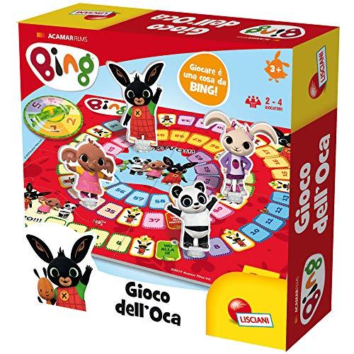 Liscianigiochi- Bing Gioco dell'Oca Educativo, Multicolore, 75850