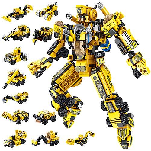 VATOS Robot Costruzioni Giocattolo STEM 573 Pezzi Giocattolo Creativo per l'edilizia di...