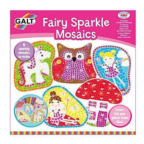 Galt GA1003916 Fairy Sparkle Mosaics - Kit per La Creazione di Scintillanti Mosaici