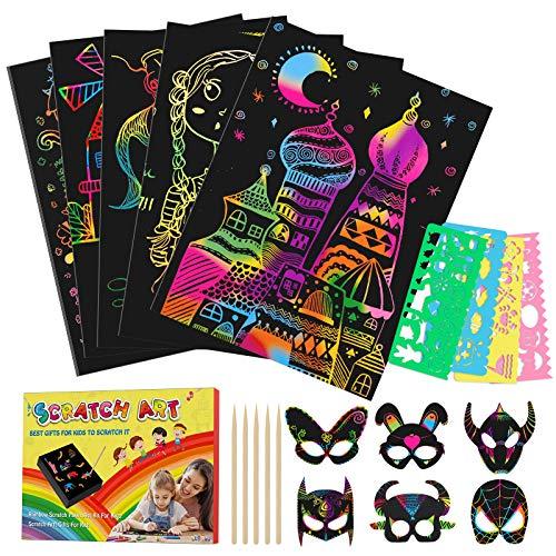 Tesoky Giochi Bambina 3-10 Anni, Giochi per Bambina Album da Colorare per Bambini 3-12...