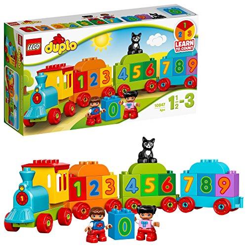 LEGO Duplo My First il Treno dei Numeri, per Iniziare a Contare Divertendosi con Questo...