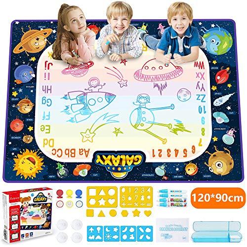 JOYSPACE Acqua Doodle Tappeto 120 *90cm Tappeto Magico per Bambini Aqua Doodle Tappetino...