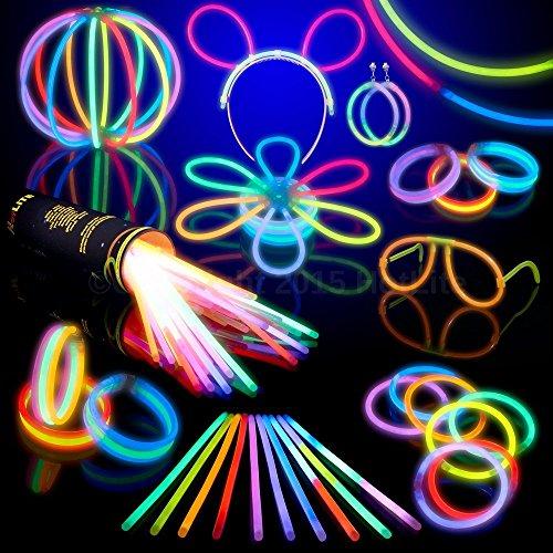 HOTLITE Set di luci fluorescenti (totale 216 pezzi) – 100 x 20 cm di alta qualità,...