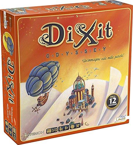 Asterion 8005 - Dixit Odyssey, Gioco di società, Edizione Italiana [nuova versione]
