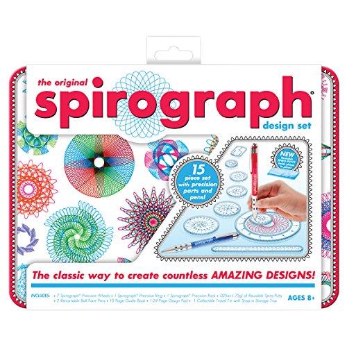 Kahootz - Spirografo Design Set W/Tin
