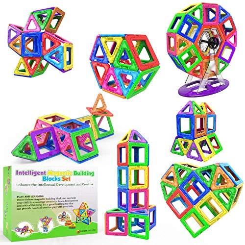 Desire Deluxe 94 Pezzi Costruzioni Magnetiche per Bambini Gioco Educativo e Creativo per...