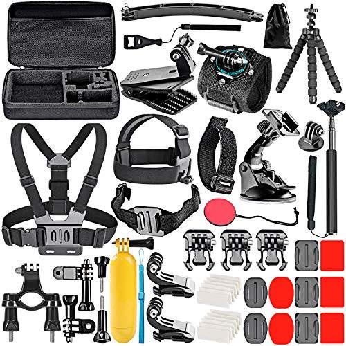 Neewer 50-In-1 Kit di Accessori per Action Camera Compatibile con GoPro Hero 9 8 Max 7 6 5...
