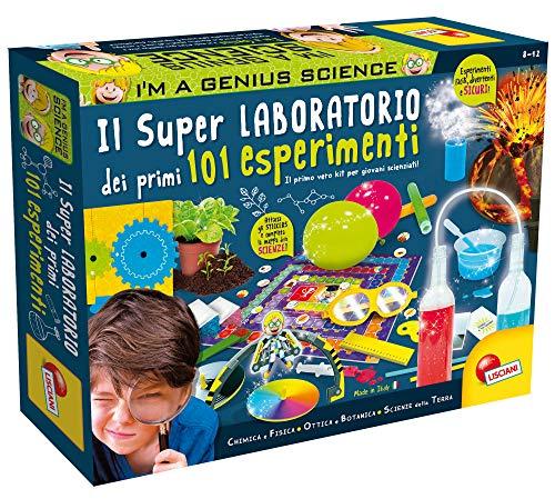 Lisciani Giochi - Super Laboratorio dei Primi 101 Esperimenti, Multicolore, 69330, 8 - 12...