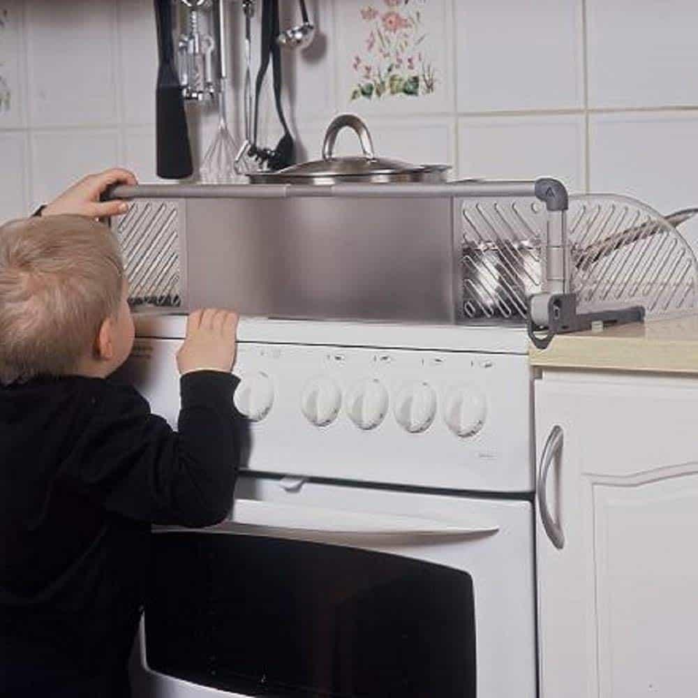 protezione piano cottura bambini